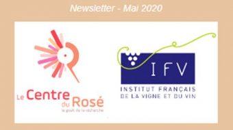 Newletter IFV/Centre du Rosé
